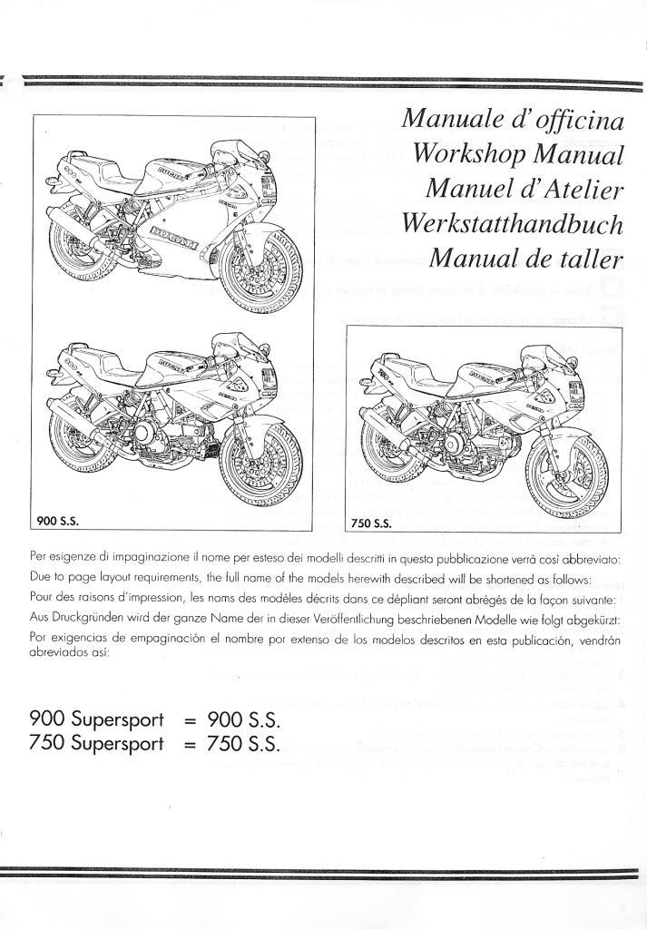 Ducati 750ss 900ss Service Manual Pdf  188 Mb